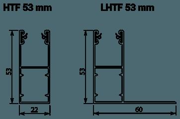 Standaard geleiders rolluik Select
