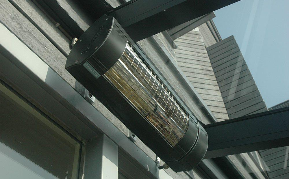Terrasverwarming Solamagic voor terrasoverkapping