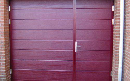 Openslaande deuren ongelijke deurvleugels